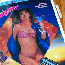 THE BANGLES' SUSANNA HOFFS SEXY 1987 ORIGINAL PROMO MOVIE POSTER VERY RARE