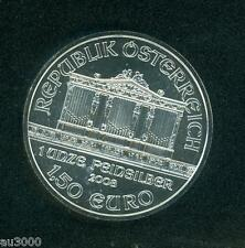 2008 AUSTRIA PHILHARMONIC 1 Oz. BULLION SILVER COIN 1.5 Euro !!!!