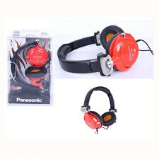 Panasonic RP-DJS400-R DJ Style Street Model Over-head Headphones RPDJS400 RED
