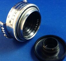 VOIGTLANDER SKOPARON 35MM f3.5 LENS FOR VOIGTLANDER RANGEFINDER 35MM FILM CAMERA