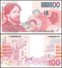 Belgium 100 Francs, 1995-2001, P-147, UNC