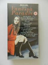 VHS Video Kassette Vanessa Paradis Tous ses clips
