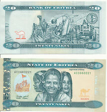 Eritrea - 20 Nakfa 2012 (2014) UNC - Pick New