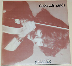 "Dave Edmunds-Girls Talk-1979 Mint Vinyl 7""-Swan Song-SSK 19418"