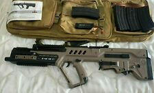 Airsoft IWI Tavor 21 w/ soft case and real steel upgrades