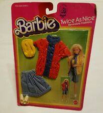 #4826 Barbie Twice As Nice ( Reversible Fashion ) - Topsy Twosider 1983 Outfit