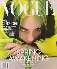 VOGUE Magazine March 2020 Issue BILLIE EILISH Spring Awakening Lime Cover BAGGED