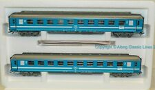 Marklin 42892, Ho scale,  Coach Set 'Tegernsee Bahn' in Blue and white livery