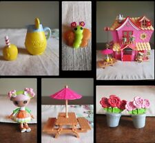 Lalaloopsy Sweet Playhouse Blossom Flowerpot Picnic table Butterfly Pet Lemonade