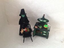 Dolls house witches furniture