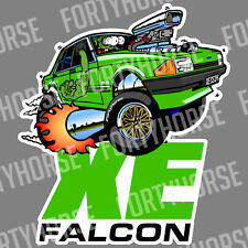 Ford Vinyl Stickers - XE Falcon Green