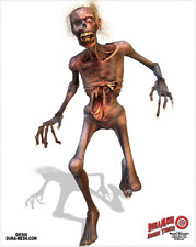FULL COLOUR ZOMBIE DURAMESH TARGET FACE ARCHERY FREE registered post
