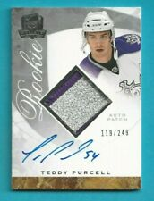 2008-09 The Cup TEDDY PURCELL ROOKIE PATCH AUTO /249