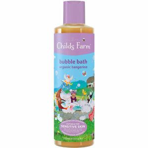 Childs Farm Organic Tangerine Bubble Bath 250ml - Vegan