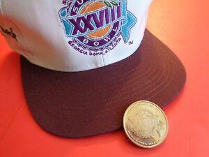 Super Bowl XXVIII(28)-Unused (Like New) cap and Flip Coin (Dallas COWBOYS WIN)