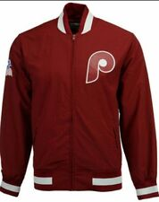 Mitchell & Ness Philadelphia Phillies 1980 Champions Team History Warm up Jacket