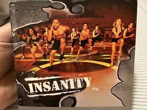 insanity workout DVD Set By Beachbody
