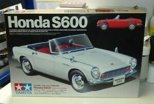 TAMIYA 1:24 SCALE HONDA S600 - WITH INSTRUCTIONS & DECALS