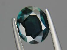 Fine Australian Blue Green Sapphire 1.85ct Oval 8x7mm Loose Natural Gemstone VS