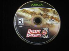 Dynasty Warriors 5 (Microsoft Xbox, 2005) DISC ONLY