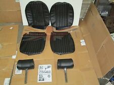 New Front Seat Covers Upholstery MGB 1970-72 w Complete Headrests Made in UK