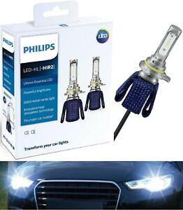 Philips Ultinon LED Kit 6000K White 9012 Two Bulbs Head Light Dual Beam Upgrade
