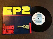 "THE SOUNDS MACHINE EP 2 7"" VINYL 1988 NM/EX+ Living Colour Queensryche Voivod"