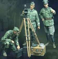 1:35 Propaganda Filming Team Resin Figures Unfinished