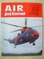 AIR PICTORIAL MAGAZINE MAY 1972 WESTLAND SEA KING - HANDLEY PAGE VICTOR
