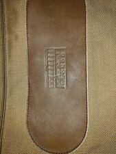 Eddie Bauer Edition Vintage Bronco Garment Bag Canvas & Leather GUC