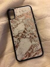 iPhone X Marble Rose Gold Case Cover