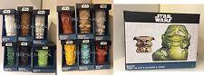 Star Wars Geeki Tiki Mug Series 1 AND 2 + Jabba The Hutt Salacious Crumb x14 SET