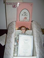 LIZZIE limited issue doll in Polly's Tea Party by artist Susan Krey Ashton Drake