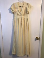 Young Reflections Yellow Vintage Dress