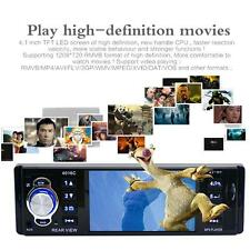 4.1Inch TFT HD 1DIN Car In-Dash Stereo MP5 Players FM Radios MP3 Video Audio
