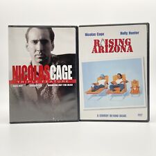 Nicolas Cage Dvds Bringing Out The Dead, Face/Off, Snake Eyes, Raising Arizona