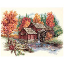 Dimensions 35199 Glory Of Autumn Counted Cross Stitch Kit