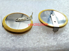 2 x Tabbed 3V CR2430 Button Coin Battery With 2 Solder Tabs/Pins