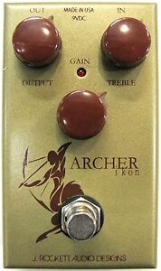 Used J Rockett Archer Ikon Overdrive Distortion Boost Guitar Effects Pedal