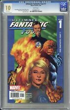 Ultimate Fantastic Four #1 CGC 10 - GEM MINT !