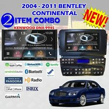 2004 - 2011 BENTLEY CONTINENTAL + KENWOOD DNX-994S 2DIN RADIO KIT PACKAGE