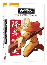 NEW Avatar: The Last Airbender The Complete Series DVD Box Set Unrated FREE SHIP