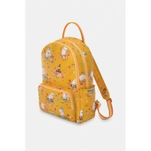 Cath Kidston Moomin Mushroom Scenic Pocket Backpack - Yellow - BNWT