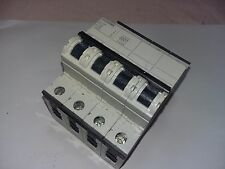 SIEMENS 5SY66 MCB C25 25 A 4 POLOS MAGNETOTERMICO CIRCUIT BREAKER G