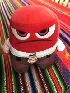 Inside Out Anger Plush Toy