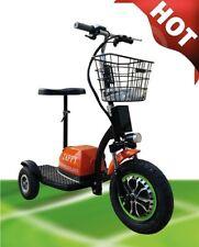 350w Silber Zappy Golfcart Fun ELEKTROSCOOTER Dreirad Elektroroller bis 20km/h