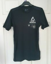REEBOK Performance ACTIVCHILL Compression Baselayer T-Shirt Fit Top Size MEDIUM