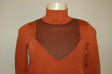 NWT/WOT BCBGeneration Long Sleeve Turtle Neck Wool Sweater XS S M Nice LQQK $98