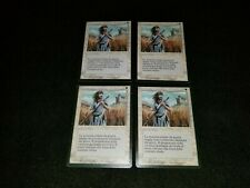 MTG 4x Revised white uncommon LP Italian FBB Swords to Plowshares