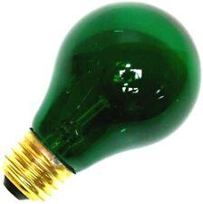 Sylvania 11714-25A19/TG/RP 125V Standard Transparent Colored Light Bulb, Green